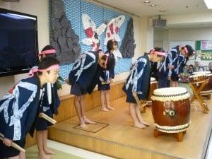 北中学校太鼓演奏h27,7,31 023