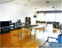 イベントやレクリエーションが行われる多目的スペースです。