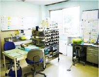 看護師が常駐しており、ご利用者様の健康状態を把握し、処置をさせていただきます。