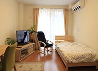 お部屋は、みなさまのご自由に設定でき、ご自宅からの持ち込みも可能です。