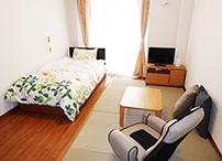 床での生活がお好きな方は、畳などをいれることで、お好みのお部屋にできます。