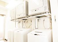 洗濯機と乾燥機を無料でご自由にお使いください。